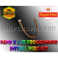NAND X JR Programmer wires