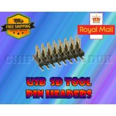 4GB USB tool pin headers