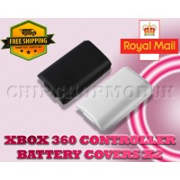 XBOX 360 wireless controller replacement battery holders X2