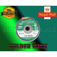 Goot solder wick 3.5mm